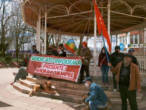 Foto Ex trabajadores de Infodema solicitan apoyo para no acumular deudas por cuentas de agua y luz